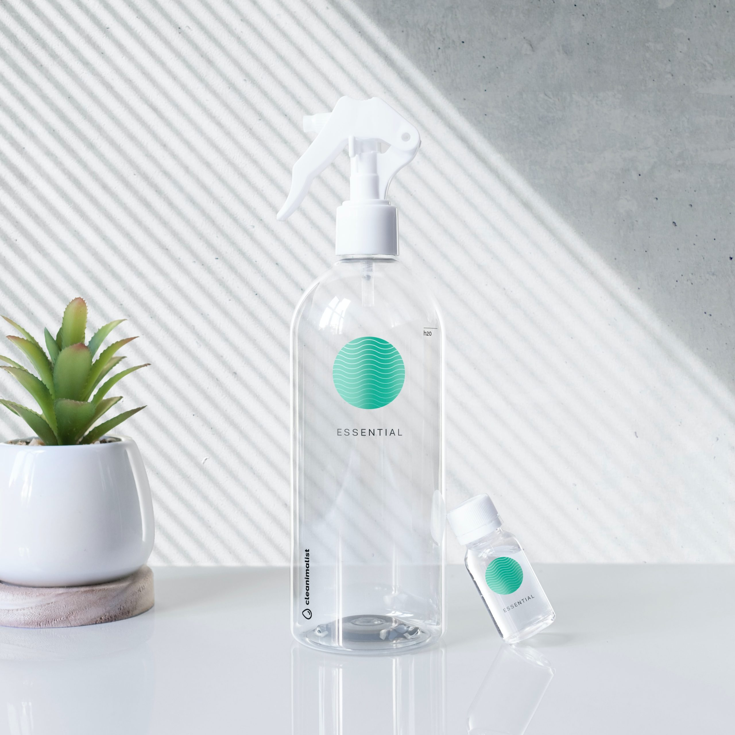 bottle of a better cleaning solution for removing mold and cleaning glass